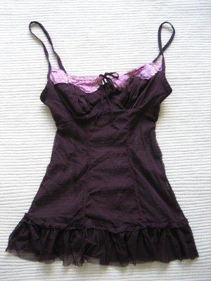 Tally Weijl Vestaglia viola scuro-rosa