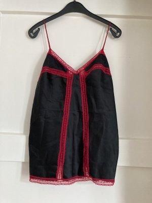 Avant Première Set lingerie nero-rosso