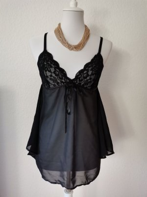 H&M Negligee black