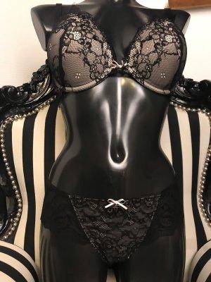 Lingerie Set cream-black