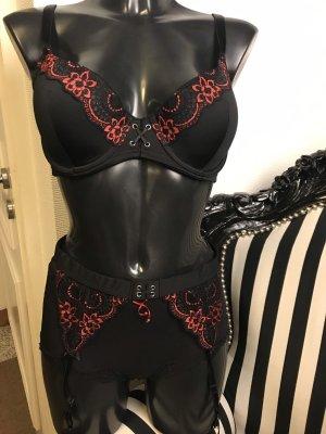 Lingerie Set black-red