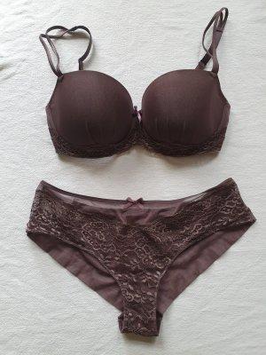 Marie Jo Set lingerie marrone