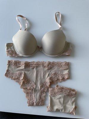 Palmers Ensemble de lingerie beige-rose chair