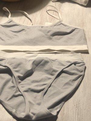 Ergee Ensemble de lingerie blanc-bleu clair