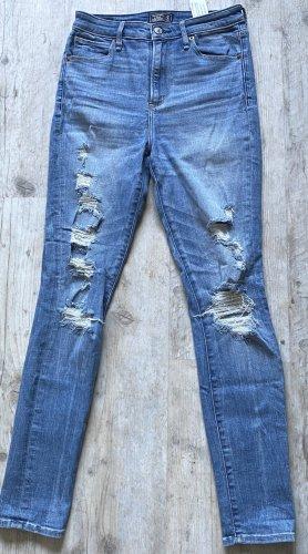 destroyed HighWaist-Jeans