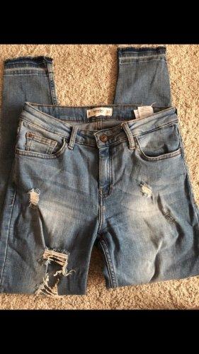 Mango Jeans stretch bleu azur-bleu