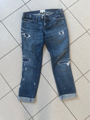 Current/elliott Jeans boyfriend blu scuro-azzurro