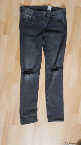 Destroyed Jeans / Dunkelgrau / Gr. 29