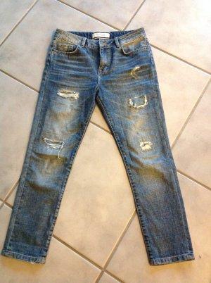 Marlene Birger Boyfriend Jeans slate-gray