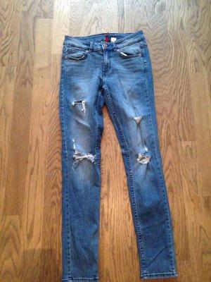 Destroyed Jeans Gr. 36