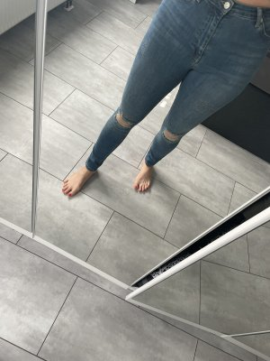 Nakd Jeans a sigaretta grigio ardesia