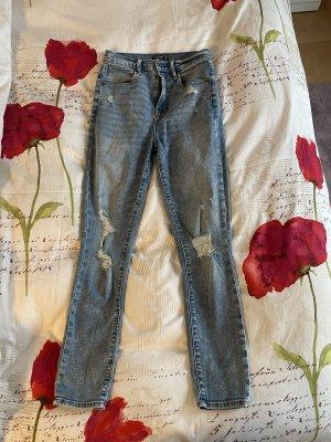 Abercrombie & Fitch Jeans a vita alta multicolore