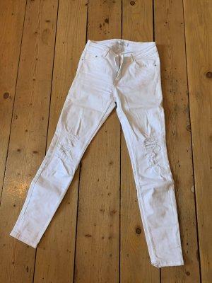 Destroyed Jeans Zara