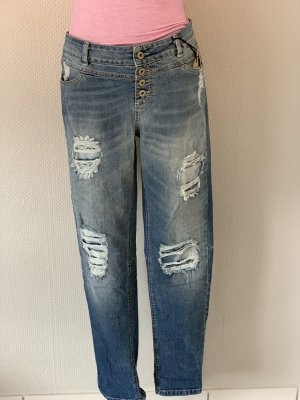 Destroyed Stretch Jeans *neu*