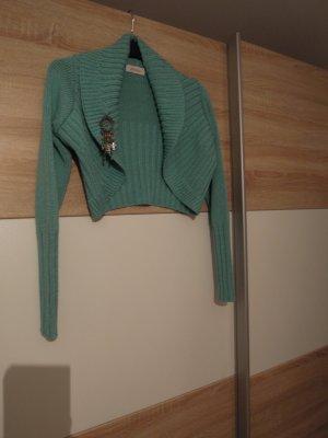 La Provenza Knitted Bolero multicolored mixture fibre