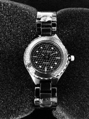 Orologio analogico nero-argento