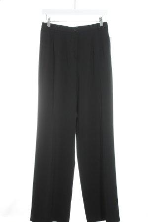 Deyk Pantalone da abito nero stile professionale