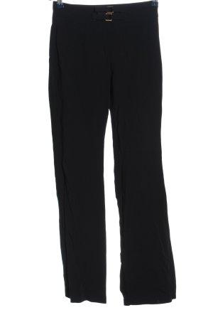 Deyk Connemara Pantalon taille haute noir style d'affaires