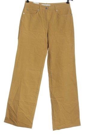 Deyk Connemara Pantalon en jersey jaune primevère style décontracté