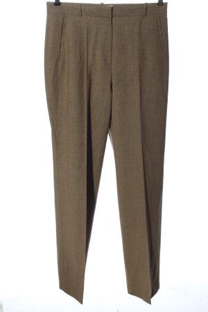 Deyk Connemara Pantalon en jersey brun moucheté style décontracté