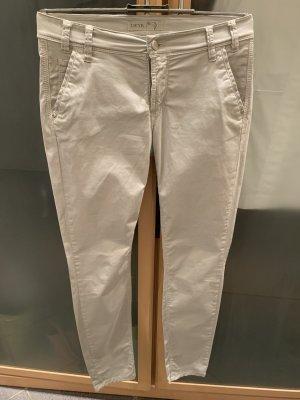 Deyk Chinos light grey cotton