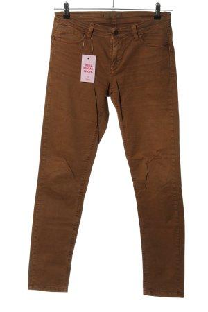 Deyk Jeans a sigaretta marrone stile casual
