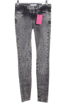 Deyk Jeans a sigaretta grigio stile casual
