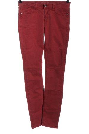Deyk Jeans skinny rosso stile casual