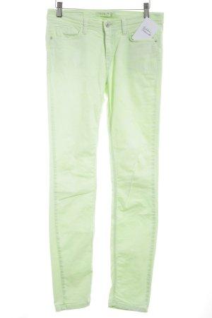 Deyk Slim Jeans blassgrün Farbverlauf Casual-Look