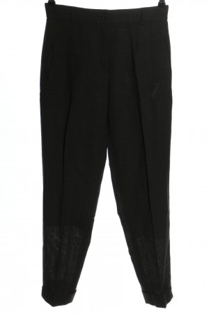 Deyk Pantalone jersey nero stile casual