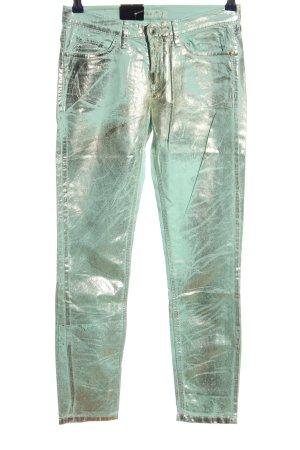 Deyk Straight-Leg Jeans türkis extravaganter Stil