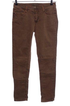Deyk Jeans elasticizzati marrone stile casual