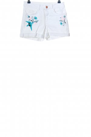 df young Hot Pants Motivdruck Casual-Look
