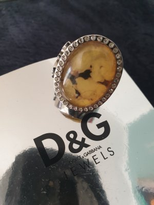 D&G Silver Ring silver-colored