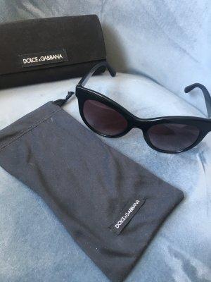 Dolce & Gabbana Occhiale nero-sabbia Tessuto misto