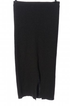 di Bari Woolen Dress black flecked casual look