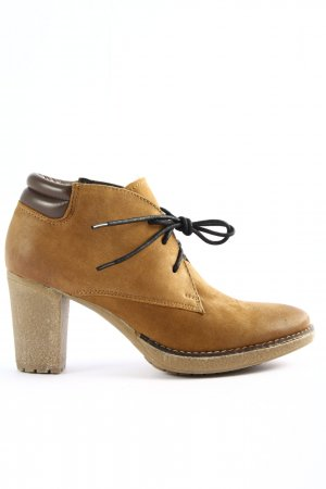 di Lauro Booties braun Casual-Look