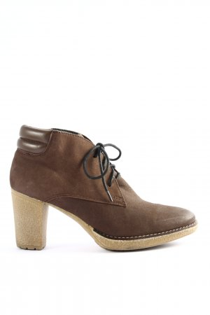 di Lauro Booties braun Business-Look