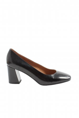 di Lauro High Heels schwarz Business-Look