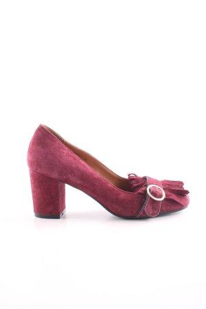 di Lauro Trotteur pink Vintage-Look