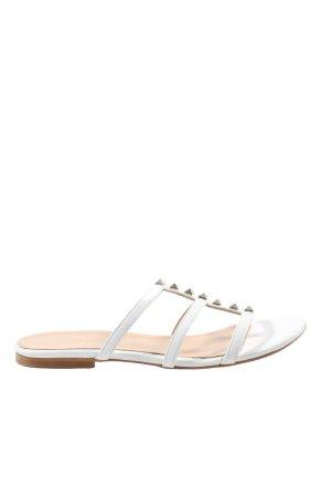 Di' nuovo Sandalias cómodas blanco look casual