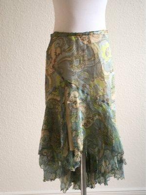 Maria di Ripabianca Broomstick Skirt multicolored