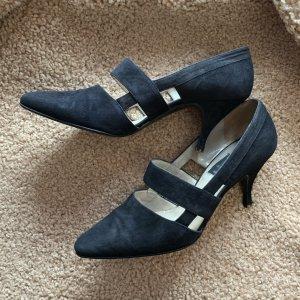 di Sandro Strapped pumps black leather