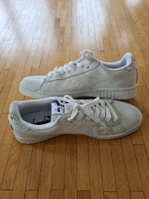 Diadora Leder Sneaker Low Off White