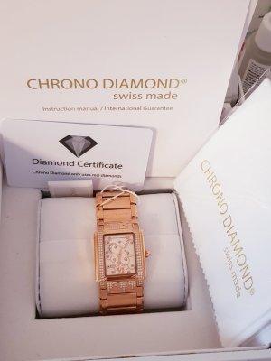 Chrono Diamond Orologio analogico oro