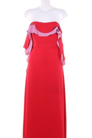 Diamonds & Pearls Abendkleid rot-pink Elegant