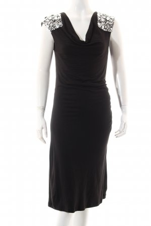 Diamonds & Pearls Abendkleid schwarz Elegant