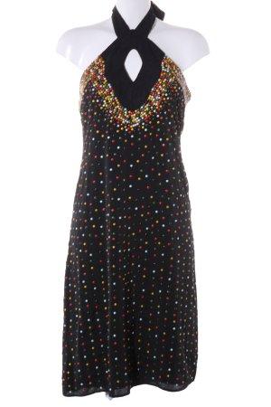 Diamonds & Pearls Neckholderkleid schwarz Elegant