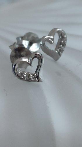 DIAMORE Diamant-Ohrstecker aus Sterlingsilber