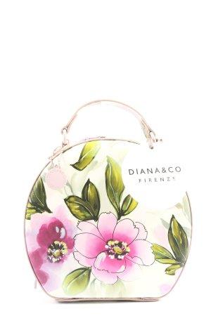 Diana&Co. Gekruiste tas bloemenprint casual uitstraling
